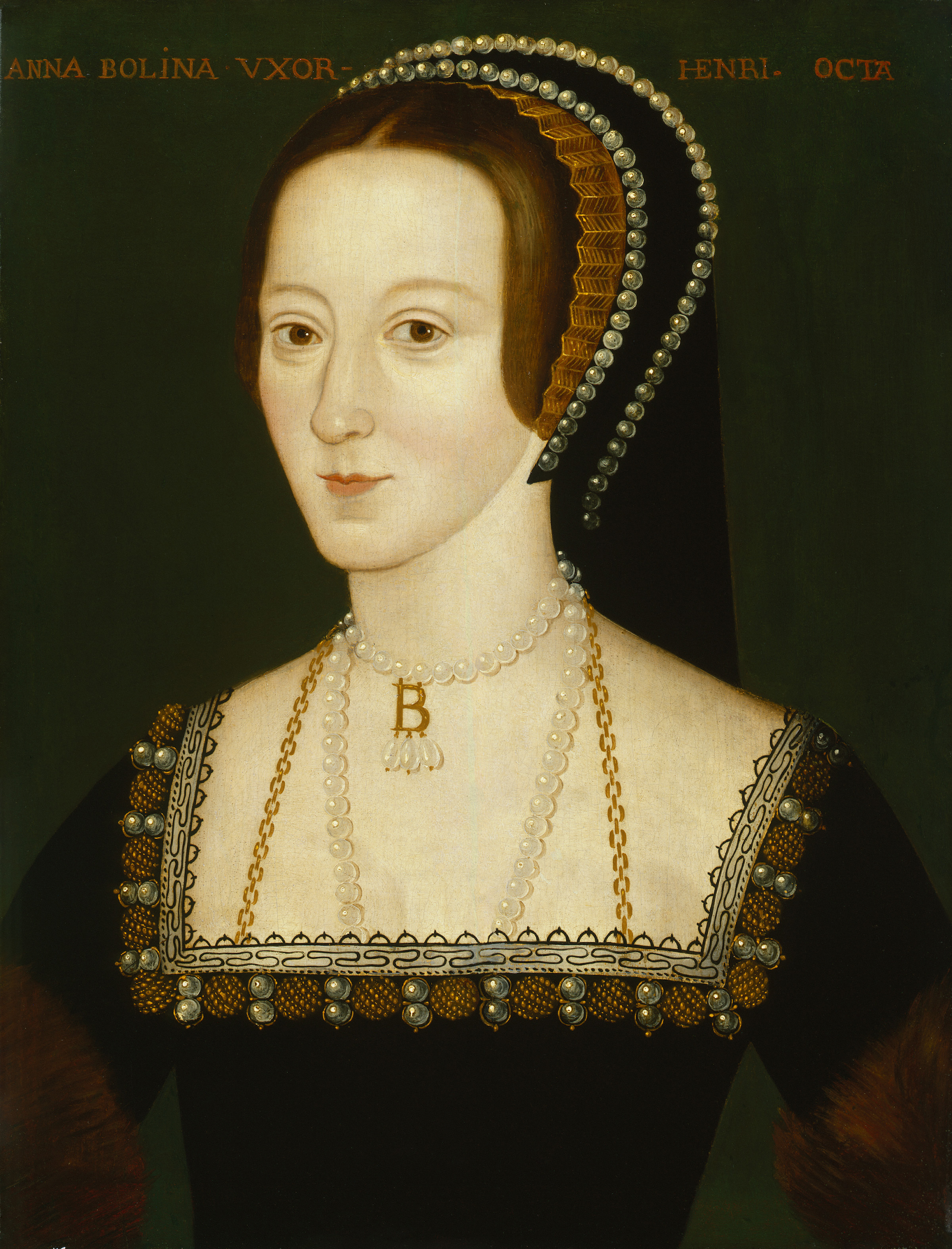 668,Anne Boleyn,by Unknown artist Unknown artist